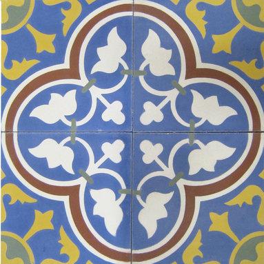 Roseton - 8x8 Cement Tile