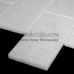 Statuary Marble Italian White Statuario 3x6 Marble Subway Tile Polished - Bianco Statuary 3x6 Marble Subway Tile is also known as White Statuario 3x6 Marble Subway Tile. Premium grade 3x6 marble subway tile is perfect for both residential and commercial projects (kitchen renovation, shower remodeling, renovating bathroom, backsplash, flooring, cladding walls). 3x6 Marble Subway Tiles are mainly preferred as floor tiles for their clean, aesthetic qualities. A large selection of coordinating products are available, including Statuary basketweave mosaics, Statuary herringbone mosaics, Statuary hexagon mosaics, 3x6 marble subway tiles, 12x12 Statuary marble tiles, 4x4 Statuary marble tiles, Statuary borders, Statuary moldings and Statuary baseboards, each available in honed, polished and tumbled finishes