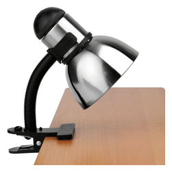 Lite Source - Metal Clip-On Lite, Ps/Blk 60W/A Type - Metal Clip-On Lite, Ps/Blk 60W/A Type