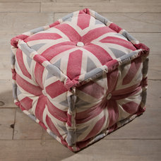 Eclectic Ottomans And Cubes by Overstock.com