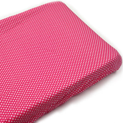 """Simplicity Hot Pink - Changing Pad Cover - Changing pad cover comes in the """"polka dot"""" signature fabric in cotton.  Also available in sets!"""