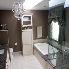 traditional bathroom lighting and vanity lighting by All About Interiors LLC