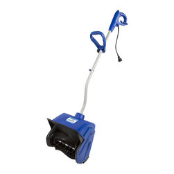 Snow Joe - Plus 13-inch 10 AMP Electric Snow Shovel - The Plus 323E-RM electric snow shovel is designed to clear snow from decks, steps and walkways. This fantastic unit boasts a powerful 10-amp motor and can toss snow up to 20 feet.