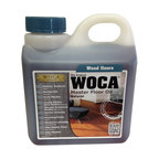 Woca DenMark - WOCA Master Floor Oil 1 Liter - WOCA Master Oil - Natural (Formerly Trip Trap) may be used on all unfininshed, freshly sanded and newly laid wood floors in all wood species. To be used on untreated and lye primed wood such as interior wood floors, wood stairs, wood panels, and wood furniture. The WOCA Master Oil has excellent penetration properties and therefore ensures a hard-wearing, dirt and water resistant surface. The WOCA Master Oil Natural is mainly used on dark wood species and enhances the natural warm glow of the wood whereas light wood species are often finished with WOCA Master Oil White which maintains and protects the natural light color.