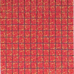 Asian Red Mosaic Tile - SOLD BY BOX