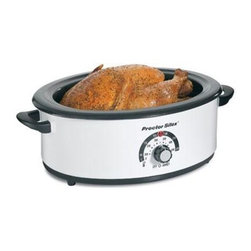 Hamilton Beach - Roaster Oven 6.5 Qt. - Increase your oven space with this Proctor-Silex Roaster Oven.  It provides fast easy roasting and bakes and serves as well.  Pan is removable.