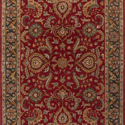 Artistic Weavers - Artistic Weavers AWHY AWHY-2062 (Red) 5' x 8' Rug - This Hand Tufted rug would make a great addition to any room in the house. The plush feel and durability of this rug will make it a must for your home. Free Shipping - Quick Delivery - Satisfaction Guaranteed