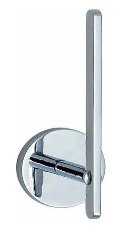 Smedbo - Smedbo Loft Spare Roll Holder, Polished Chrome - Smedbo Loft Spare Roll Holder, Polished Chrome
