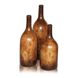 Mathews & Company - Columbia Stoneware Bottles Set of 3 - Our overview of the new Columbia Stoneware Bottles Set of 3 is on its way but you can still purchase this wonderful piece for your living quarters today. If you have questions about the product just drop a line or send us an email!