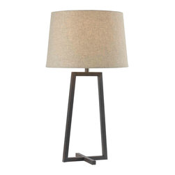 Kenroy - Kenroy 32150ORB Ranger Table Lamp - Kenroy 32150ORB Ranger Table Lamp