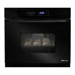 """Dacor Classic Epicure 27"""" Single Wall Oven, Black 