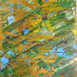 Cynthia Todd Art - Camouflage Vision - painting - Camouflage Vision is a one of a kind original painting by Cynthia Todd.