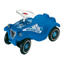 Digital Complex Inc - Big Bobby Classic Dolphin Car Riding Push Toy Multicolor - BIG-1309 - Shop for Tricycles and Riding Toys from Hayneedle.com! Over six million sold! The Big Bobby Classic Dolphin Blue Car Ride on Push Riding Toy is a classic for a reason. This push-powered car is an award-winning design for safety and fun. What makes these so popular is the large working steering wheel comfortable seat and smooth riding motion. Turn your driveway into an Autobahn! Strong durable ABS plastic body holds up to 220 lbs lasting year after year child after child.About Big Toys USABig Toys USA is an exclusive U.S. distributor for high quality ride-on toys from Spain Germany China and Italy along with a complete line of American-made rideable toys. Bigs Toys represents Fisher Price Power Wheels Big Injusa Kid Trax Mini Motos Feber NPL Evo Powerboards and Toys Toys. Big Toys focuses is on quality safety value and most of all Big Fun.
