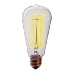 Bulbrite - 1910 Nostalgic Chandelier - Classy light fixtures need classy bulbs. You can use these vintage style bulbs in historic glass lamps, or for a more contemporary feel, industrial and other eclectic chandeliers.