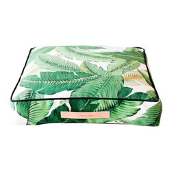 Gallant and Jones - Floor Pillow, Outdoor Cushion, Square in Tahiti - Outdoor/Indoor Ottoman or Floor Cushion