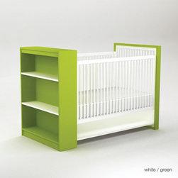 ducduc aj crib - Four mattress height settings.