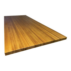 Armani Fine Woodworking - White Oak Butcher Block Countertop - Armani Fine Woodworking White Oak Butcher Block Countertop