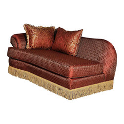 Chelsea Home Furniture - Chelsea Home Royal Chaise in Baring Rust - Royal Chaise in Baring Rust belongs to Benchmark collection by Chelsea Home Furniture.