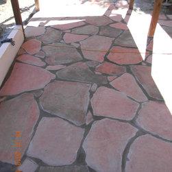 san jose - flag stone