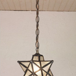Meyda - 9 Inch Width Moravian Star Mini Pendant Outdoor Lighting - Color theme: Zasdy