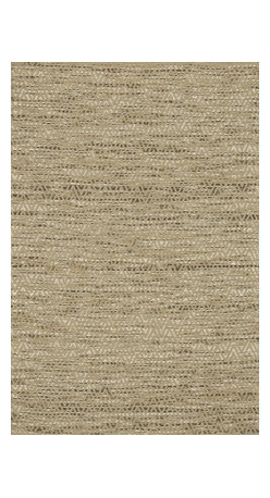 """Loloi Rugs - Loloi Rugs Leyton Collection - Natural, 5' x 7'-6"""" - The Leyton Collection features a series of hand-woven dhurries with simple, yet playful designs, enhanced by its vibrant colors. Made of 60% wool and 40% cotton from India, Leyton's patterns are elevated to create a high/low effect for enriched value."""