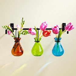 Hanging Glass Bud Vases
