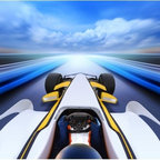 Limitless Walls - Racing At Warp Speed Wall Mural - Removable and repositionable, our walls murals are the only adhesive backed canvas wall coverings on the market. Easy to install, our 14 mil luxurious canvas is a great way to protect your walls while making them look priceless. All of our wall coverings are P.V.C. free.
