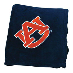 Collegiate Delight - Auburn University Throw - Collegiate embroidered throws are essential components of every season. These officially licensed products make perfect gifts.