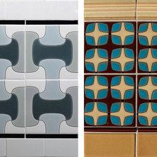 Modern Tile by prattandlarson.blogspot.com
