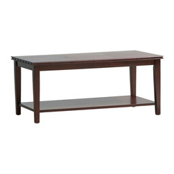 Office Star - Office Star Tucson Coffee Table With Nail Head Accents - Tucson Coffee Table With Nail Head Accents by Office Star