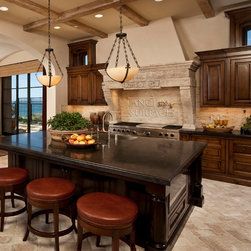 Kitchen Hood, Counters and Floors - Image provided by 'Ancient Surfaces'