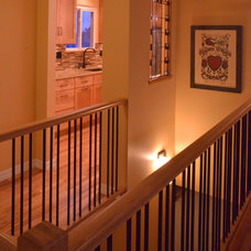 Craftsman Staircase by Beckony Kitchens & Baths