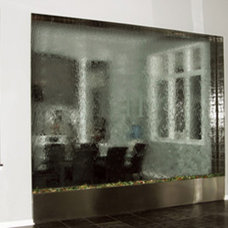 Contemporary Indoor Fountains by Custom Water Feature Design