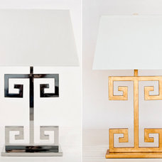 Mediterranean Table Lamps by Hazelnut New Orleans