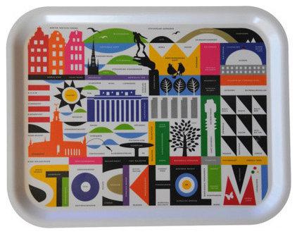 Modern Platters by Huset