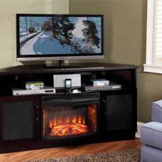 Transitional Fireplaces by Electric Fireplaces Direct