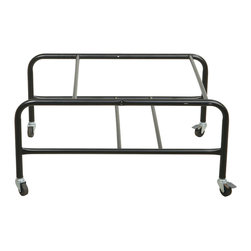 Office Star - Office Star Stacking Dolly for Stc8300 Chairs with Locking Casters - Features:
