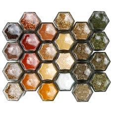 Modern Spice Jars And Spice Racks by Gneiss Spice