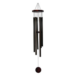 Great World - 32 Inch Octagon Wood Top Tuned Metal Wind Chime in Bronze Color - This gorgeous 32 Inch Octagon Wood Top Tuned Metal Wind Chime in Bronze Color has the finest details and highest quality you will find anywhere! 32 Inch Octagon Wood Top Tuned Metal Wind Chime in Bronze Color is truly remarkable.