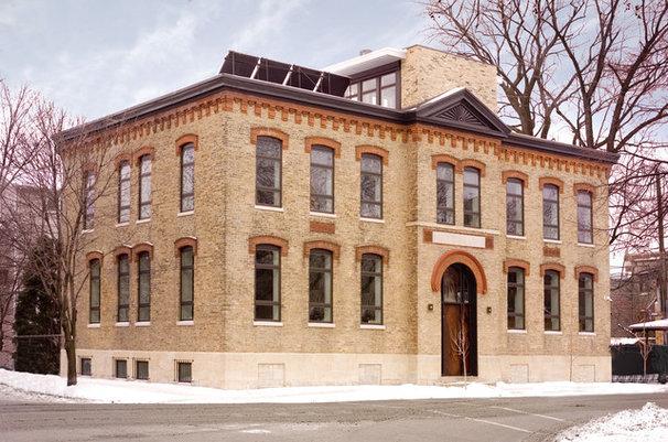 Industrial Exterior by Sullivan, Goulette & Wilson Ltd. Architects