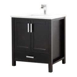 Adornus - Adornus ASTORIA -30-E-Q Espresso Vanity - Solid wood vanity