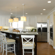 Contemporary Kitchen by Kathy Ann Abell Interiors