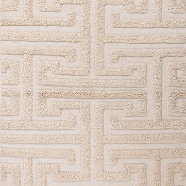 Notion NON04 Rug - 5'x8' - A combination of flat-weave and shaggy pile gives defines this dimensional rug. Modern and eclectic this rug makes a statement in any room.