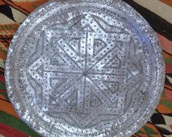 tabletop - MOROCCAN ALUMINUM TRAY