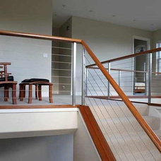 Modern  by Ultra-tec Cable Railing by The Cable Connection
