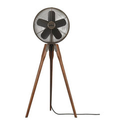 Fanimation - FP8014OB Arden Floor Fan, Oil-Rubbed Bronze - Traditional Floor Fan in Oil-Rubbed Bronze from the Arden Collection by Fanimation.