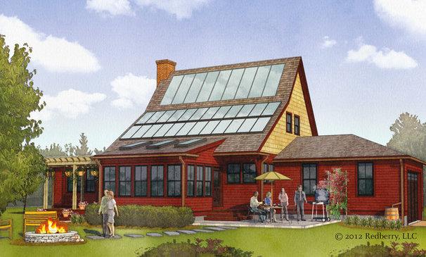 Farmhouse Rendering by Union Studio, Architecture & Community Design