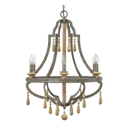 Small Bohemian Inspired Chandelier -