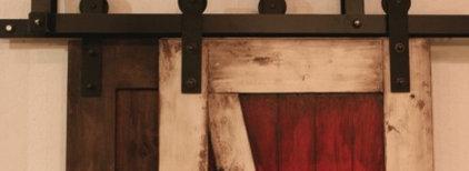 Bypass Barn Door Hardware System | Rustica Hardware