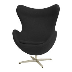 Fine Mod Imports - Inner Wool Chair - Features: